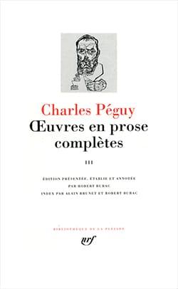 Œuvres en prose complètes, tome III