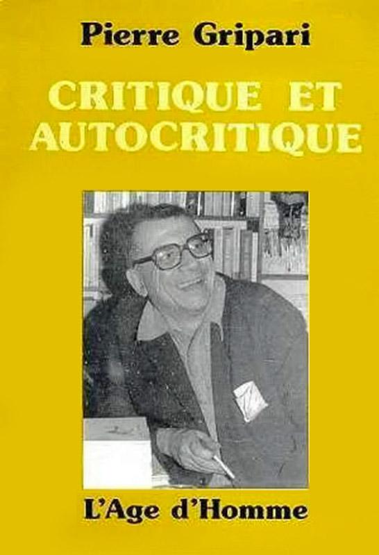 Critique et autocritique